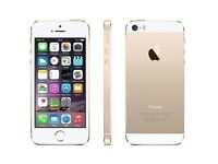 Apple iPhone 5S 16GB Gold Unlocked Smartphone With Original Box