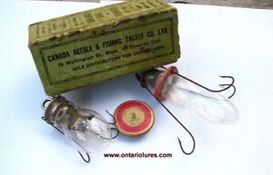 WANTED VINTAGE FISHING LURES MADE IN PETERBOROUGH $$$ Peterborough Peterborough Area image 5