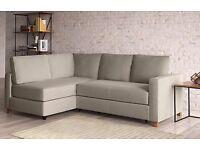 Tromso M&S Corner Sofa Bed in Cream Colour