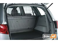 Authentic hyundai Santa Fe dog guard and fitted boot tray