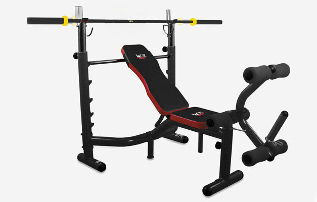 We R Sports Weight Bench with Weight Rack, £139.99