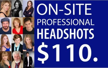 $110 On-Site Corporate Headshots | LinkedIn Headshots | Business
