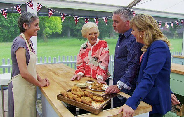 Mary Berry wowed with her polished look. Image: BBC