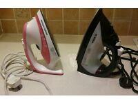 2 x Irons... spares or repair