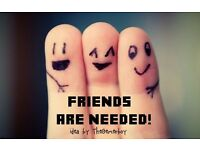 Friend Wanted