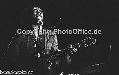 Bob Marley in London 1977 seltenes 30x45cm tolles Konzert Tour Foto Poster