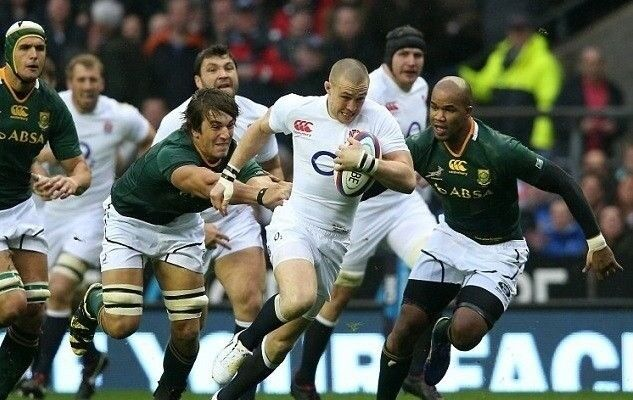5387c985c86 2 x England v South Africa Rugby Tickets - Quilter Internationals 3rd Nov  2018