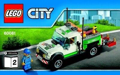 Lego City -60081-Pickup carro attrezzi-Usato- no scatola