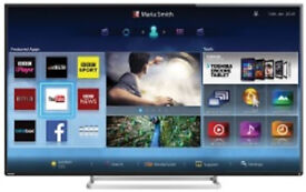 """Toshiba 55"""" Smart WiFi 3D LED TV Model 55L7453D Television with Remote Control"""