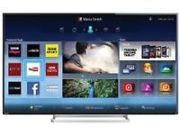"""Toshiba 55"""" Smart WiFi 3D TV Model 55L7453D Television with Remote Control"""