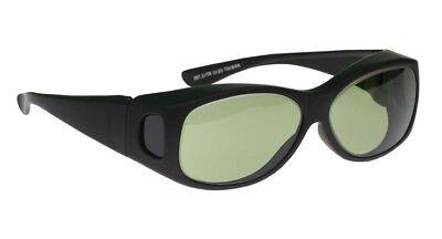 Light Green Polycarbonate Hot Glass Furnace Glasses in Black Over Glasses Safety