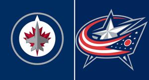 Winnipeg JETS vs. Columbus Blue Jackets (Lower Bowl Pair)