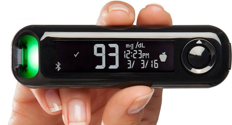 Contour Next One Blood Glucose Meter Wireless Bluetooth Moni