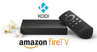 Amazon Fire TV BOX Quad Core 4K KODI-17.3 Digital HD Media Streamer