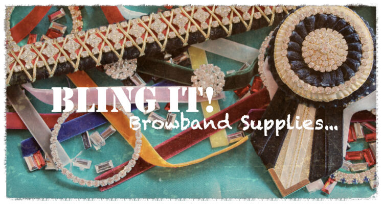 Bling it Browband Supplies