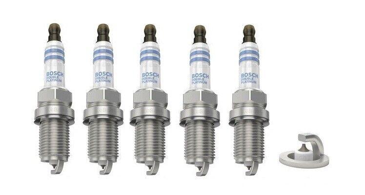 Spark Plugs x 5 Bosch Platinum Fits Volvo 850 T5 C70 S60
