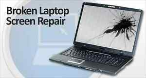 Reparation /ecran /screen laptop casse a 39.99$