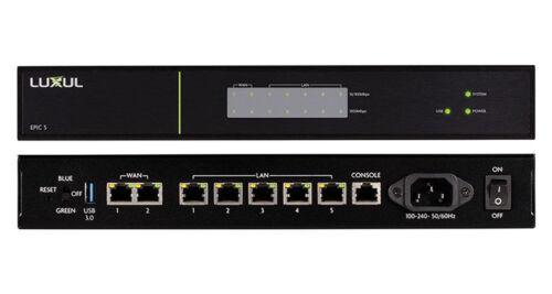 Luxul ABR-5000 Epic 5 High Performance Gigabit Router- Black