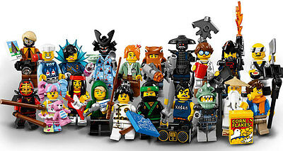 LEGO NINJAGO MOVIE SERIES COMPLETE SET MINIFIGS new minifigures 71019 20