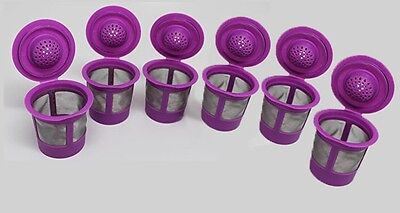 Reusable Solo Cups (6 Solo Reusable Refillable Single K-Cups Coffee Filter Pod for Keurig)