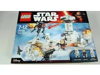 Star wars lego 75138 Hoth attack brand new & sealed