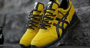 ASICS Bruce Lee Yellow / Black Limited Edition Shoes