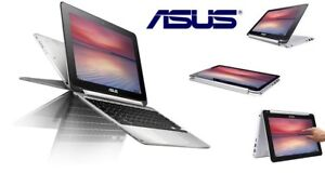 """New Open Box ASUS Flip 10.1"""" Touch Screen Chromebook"""