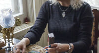 "Tarot Card Readings by ""Mori"" Sputnik Newspaper Article"