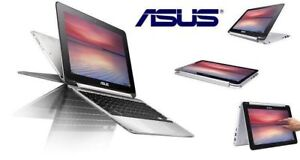 "New Open Box ASUS Flip 10.1"" Touch Screen Chromebook"