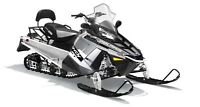 2016 Polaris 550 INDY LXT SILVER INTL