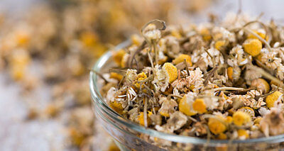 Greek Organic Chamomile Flower dried Herbal Tea, HANDPICKED 150gr BEST