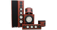 High end 7.1 Boston Cherry home theater