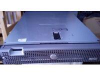 Dell PowerEdge 2950 II Xeon processor LV 5148, 2 x 2.33 GHz dual core, 16GB RAM