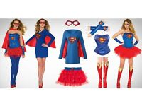 HIGH QUALITY SUPERWOMAN FANCY DRESS COSTUME (SML) - RRP £49.99 - OFFER PRICE £9.99