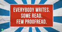 Proofreading Available-Very Affordable and Quick Service