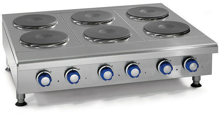 """Imperial Range Ihpa-4-24-e 24"""" Countertop Electric Hotplate With (4) 2kw Burners"""