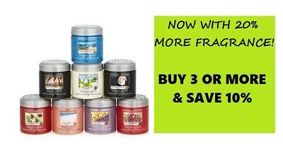 ☆☆YANKEE CANDLE FRAGRANCE SPHERES 20% MORE☆YOU CHOOSE☆☆GREAT FOR OFFICES & DORMS