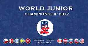 4 World Junior Tickets- CAN vs. SUI, Friday December 23 Stratford Kitchener Area image 1