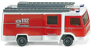N scale Wiking 96401 LF10/6 CL Rosenbauer Closed Cab FIRE TRUCK : NEW in Box for sale  Batavia