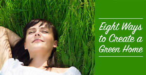 8 Ways To Create A Green Home