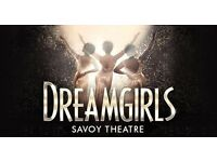 Dream girls in theatre X2 tickets