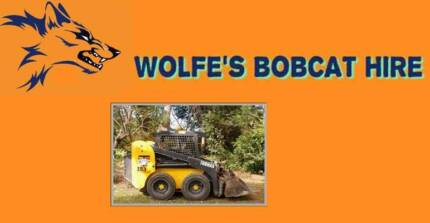 WOLFE'S BOBCAT HIRE North Brisbane  & Pine Rivers Bald Hills Brisbane North East Preview