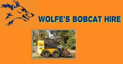 WOLFE'S BOBCAT HIRE North Brisbane  & Pine Rivers