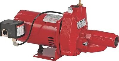 New Franklin Electric Red Lion Rjc 50 1 2 Hp Convertible Well Jet Pump 9109927