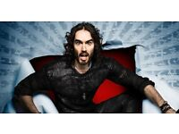 2 x RUSSELL BRAND: REBIRTH TICKETS - STOCKPORT PLAZA - WED 28 FEB (SOLD OUT)