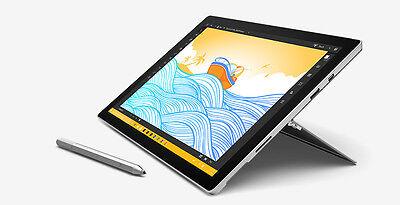 "NEW Microsoft Surface Pro 4 Laptop 12.3"" Tablet i7 i5 M3 128GB 256GB 8GB 16GB"