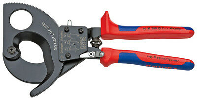 Knipex Electrical Cable Cutter or Shears Ratchet Action 95 31 280