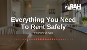 Everything you need to rent safely.