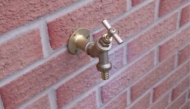 OUTSIDE TAP SUPPLIED & FITTED £60 BY A FULLY QUALIFIED PLUMBER