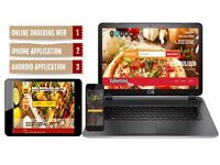 COMPLETE ONLINE FOOD ORDERING SOLUTION ONLY £350